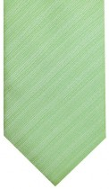 Green Textured Stripe Mens Necktie