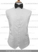 Stunning White Embroidered Pattern Dress & Party Waistcoat Offer!!