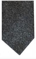 Textured Grey Blend Tie