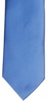 Blue Diagonal Rib Mens Necktie