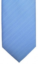 Blue Textured Stripe Mens Necktie