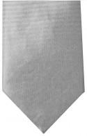 Wedding Grey Horizontal Stripe Mens Necktie