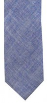 Blue Chambray Mens Necktie