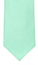 Light Green Woven Silk Tie
