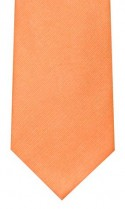 Coral Woven Silk Tie