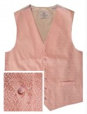 Rose Waistcoat with heart paisley pattern - New for 2018!