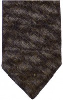 Brown Donegal-Style Tweed Tie