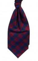 Lindsay Tartan Silk Shantung Cravat - Self Tie