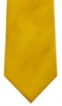 Gold Suede Effect Necktie