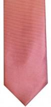 Dark Coral Colour Twill Necktie