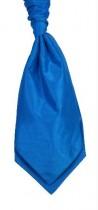 Kingfisher Blue Colour Shantung Cravat