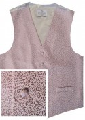 Pink Waistcoat with floral embroidery - New for 2017!