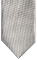 Wedding Grey Small Squares Pattern Mens Necktie