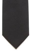 Black Diamond Pattern Polyester Tie