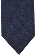Blue Flecked Tweed Tie