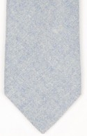Blue Wool Mens Necktie