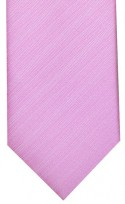 Pink Textured Stripe Mens Necktie