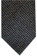 Black & Grey Dogtooth Tie