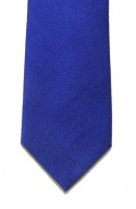 Royal Blue Woven Silk Tie