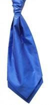 Royal Blue Twill Satin Cravat