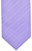 Lilac Textured Stripe Mens Necktie