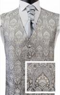 Stunning Regal Paisley Pattern Waistcoat & FREE Neckwear Offer