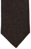 Brown Flecked Tweed Tie