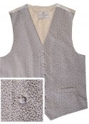 Blue Waistcoat with floral embroidery